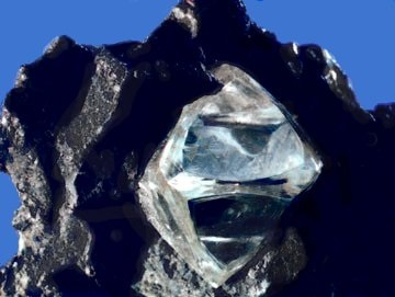 Rough natural diamond